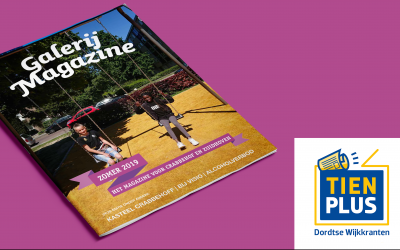 Galerij Magazine brengt lokaal Dordts nieuws in Crabbehof en Zuidhoven